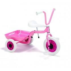 Rózsaszín Platós Tricikli
